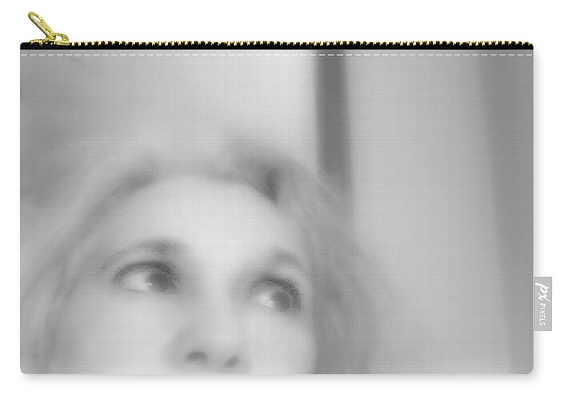 Black And White Carry-all Pouch featuring the photograph Waiting For Salvation by RC DeWinter