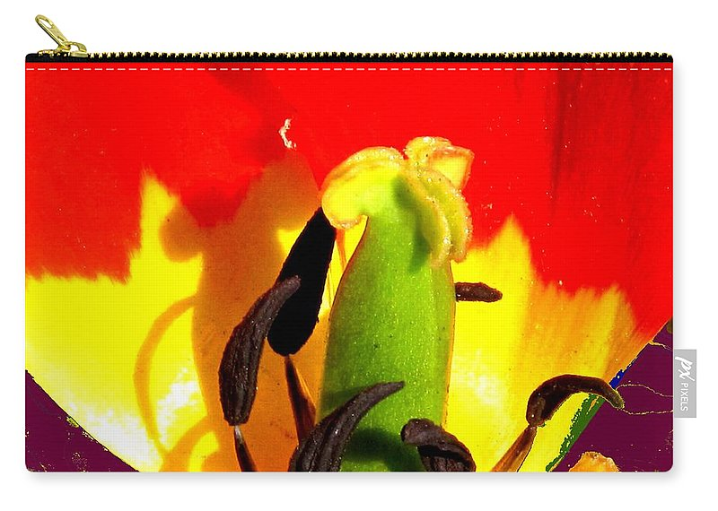 Abstract Carry-all Pouch featuring the photograph Waiting by Ian MacDonald