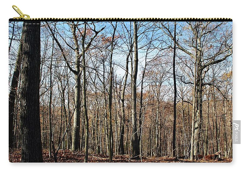 Palisades Carry-all Pouch featuring the photograph Waiting by Margaret Fronimos