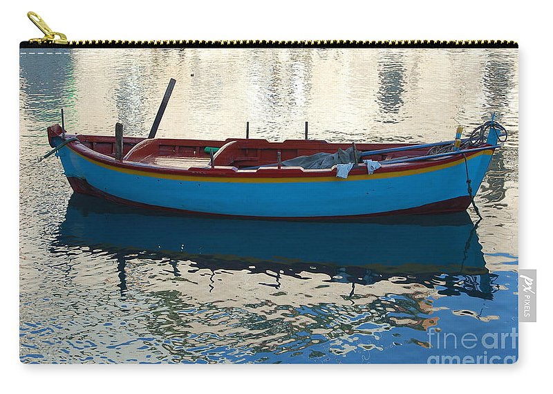 Adriatic Carry-all Pouch featuring the photograph Waiting To Go Fishing by Frank Stallone