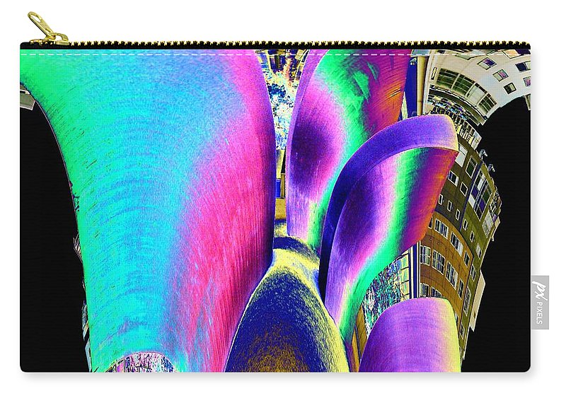 Wake Carry-all Pouch featuring the photograph Wake by Tim Allen