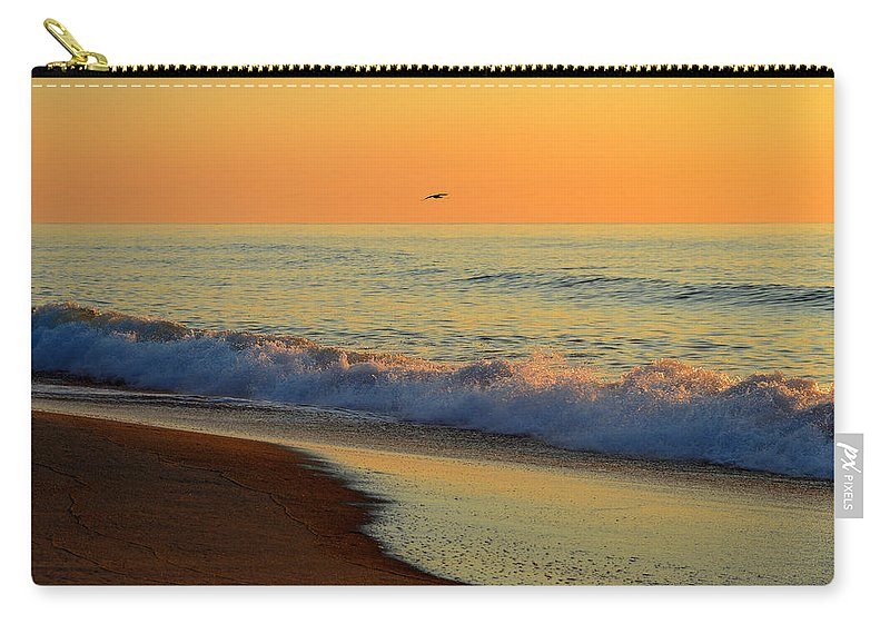 Ocean Carry-all Pouch featuring the photograph Walk With Me by Dianne Cowen