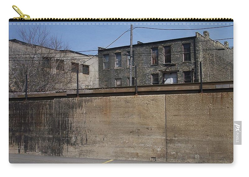 Walker's Point Carry-all Pouch featuring the photograph Walker's Point 1 by Anita Burgermeister