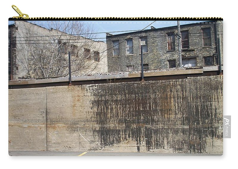Walker's Point Carry-all Pouch featuring the photograph Walker's Point 3 by Anita Burgermeister