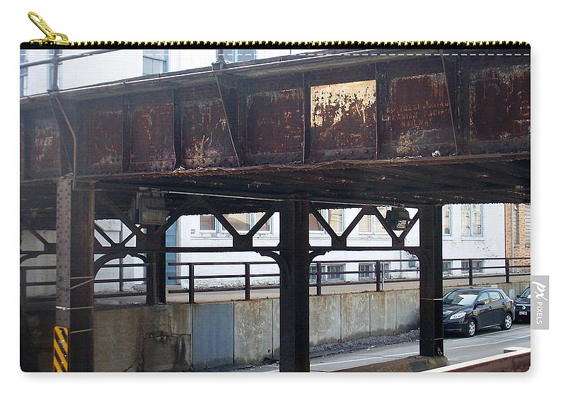 Walker's Point Carry-all Pouch featuring the photograph Walker's Point 5 by Anita Burgermeister