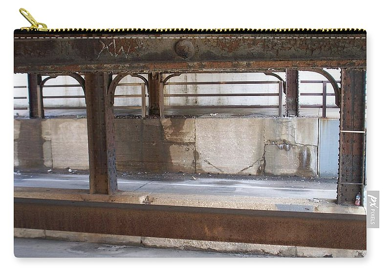Walker's Point Carry-all Pouch featuring the photograph Walker's Point 7 by Anita Burgermeister