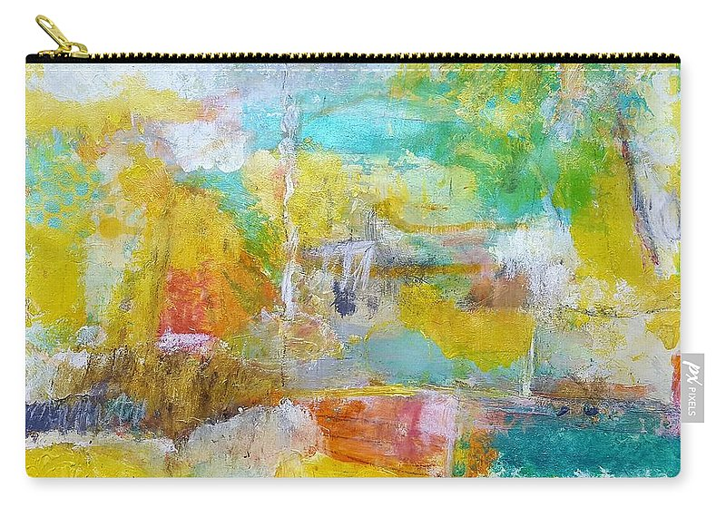 Abstract Carry-all Pouch featuring the painting Walking Home by Patricia Byron