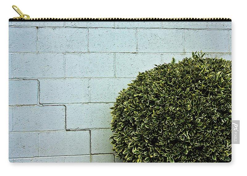 Wall Carry-all Pouch featuring the photograph Wall Art by Hannah Breidenbach