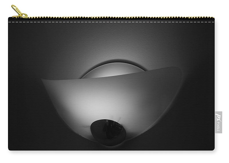 Light Carry-all Pouch featuring the photograph Wall Light by Rob Hans