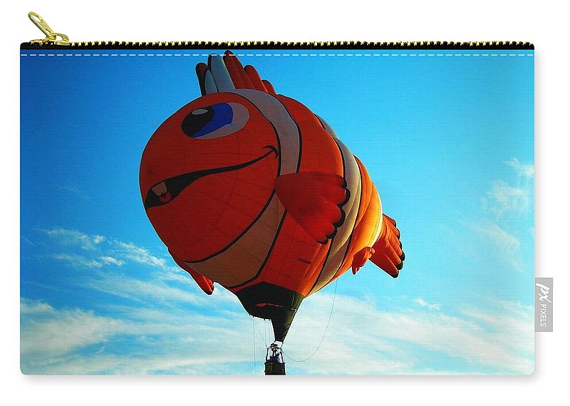 Hot Carry-all Pouch featuring the photograph Wally The Clownfish by Juergen Weiss