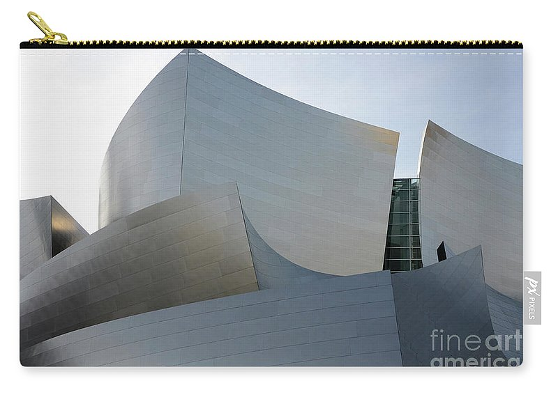 Disney Carry-all Pouch featuring the photograph Walt Disney Concert Hall 11 by Bob Christopher