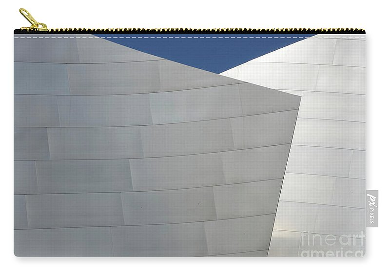 Disney Carry-all Pouch featuring the photograph Walt Disney Concert Hall 20 by Bob Christopher