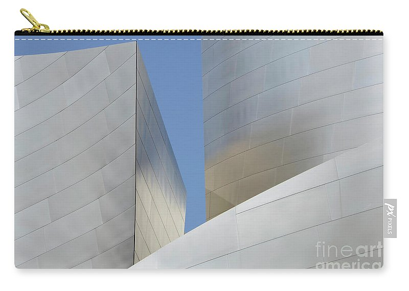 Disney Carry-all Pouch featuring the photograph Walt Disney Concert Hall 22 by Bob Christopher