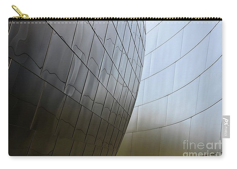 Disney Carry-all Pouch featuring the photograph Walt Disney Concert Hall 4 by Bob Christopher