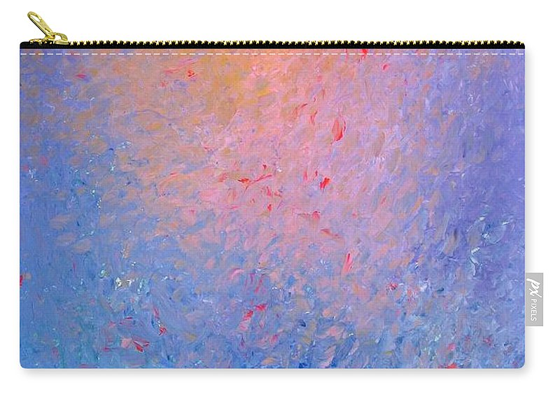 Waning Sun Carry-all Pouch featuring the painting Waning Sun by Naomi Silver