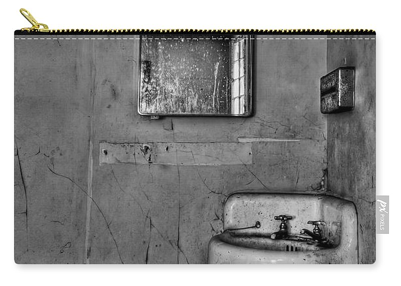 Wall Carry-all Pouch featuring the photograph Wash Away Your Fears by Evelina Kremsdorf