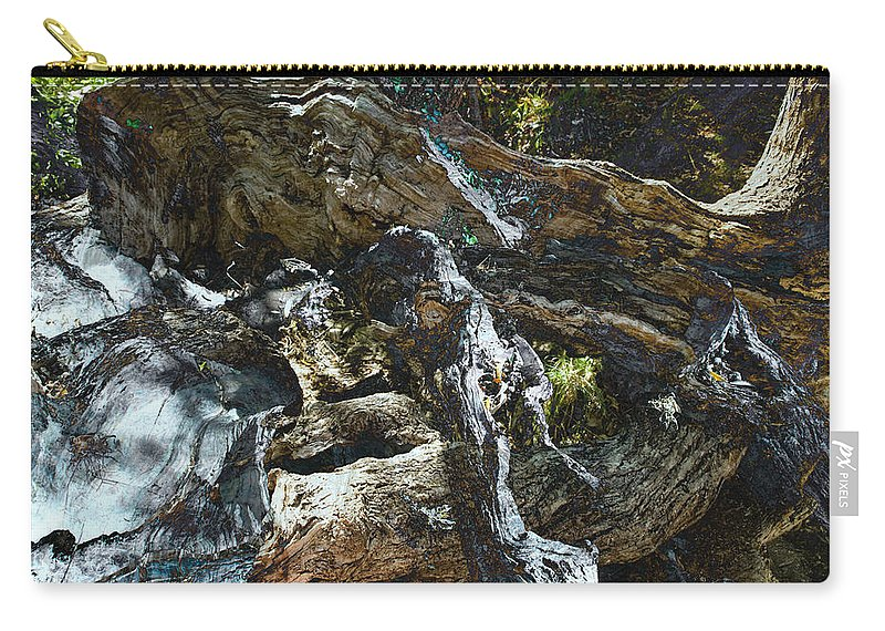 Trees Carry-all Pouch featuring the photograph Washed Away by Kelly Jade King