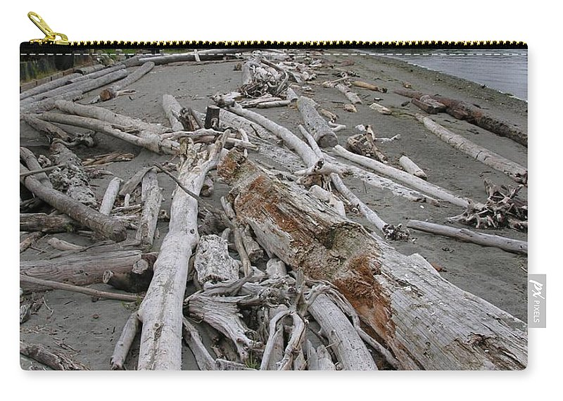 Beach Carry-all Pouch featuring the photograph Washed Up by Diane Greco-Lesser