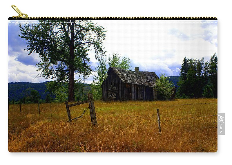 Landscape Carry-all Pouch featuring the photograph Washington Homestead by Marty Koch