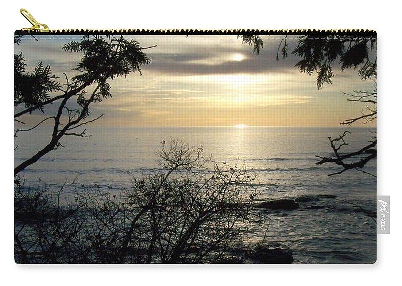 Washington Island Carry-all Pouch featuring the photograph Washington Island Morning 4 by Anita Burgermeister
