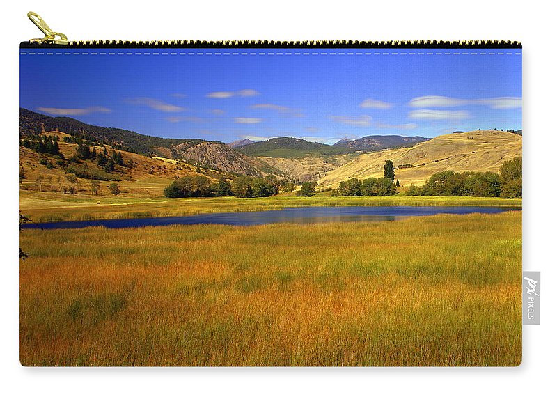 Landscape Carry-all Pouch featuring the photograph Washington Landscape by Marty Koch