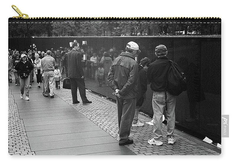 Art Carry-all Pouch featuring the photograph Washington Street Photography 1 by Frank Romeo