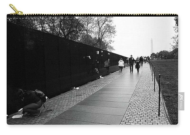 American Carry-all Pouch featuring the photograph Washington Street Photography 3 by Frank Romeo