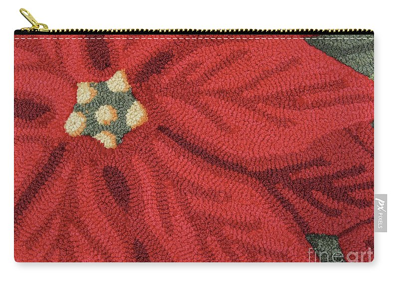 Christmas Carry-all Pouch featuring the photograph Watch Your Step by Ann Horn