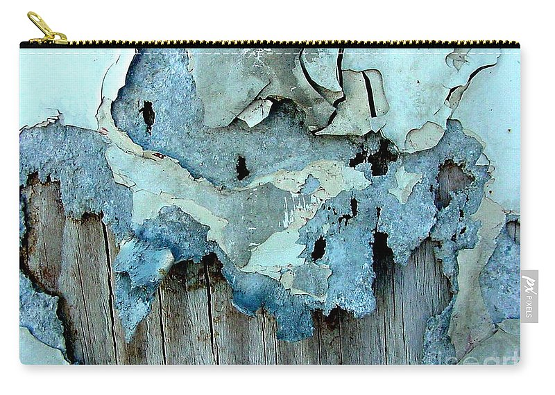 Digital Carry-all Pouch featuring the photograph Watching Paint Dry by Ron Bissett