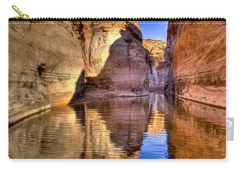 Lake Powell Utah Carry-all Pouch featuring the photograph Water Canyon by Jon Berghoff