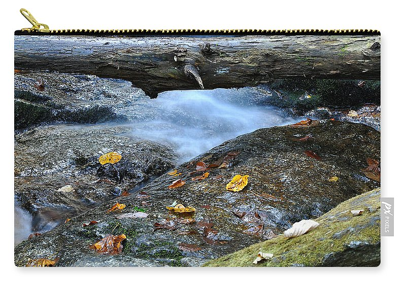 Water Falls Carry-all Pouch featuring the photograph Water Falls by Todd Hostetter
