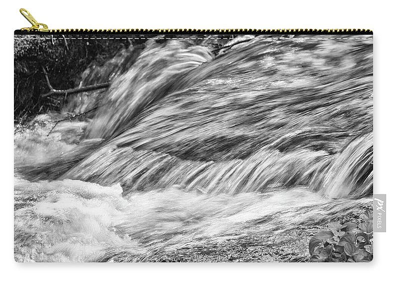 Stream Carry-all Pouch featuring the photograph Water Flow by John Greco