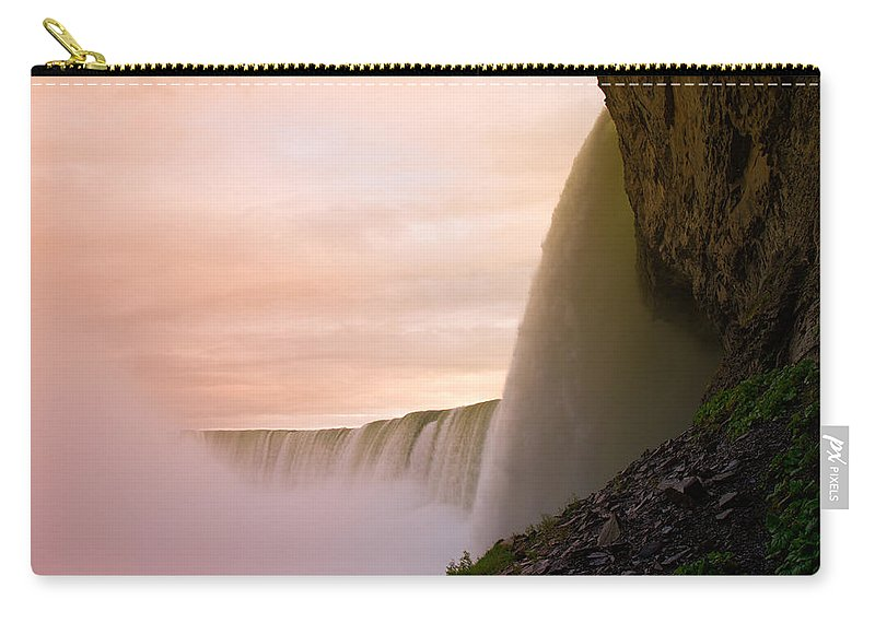 Niagara Falls Carry-all Pouch featuring the photograph Water by Sebastian Musial