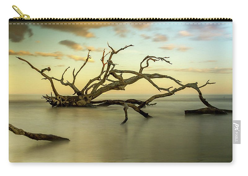 Jekyll Island Carry-all Pouch featuring the photograph Water Spider by Sanford Tullis
