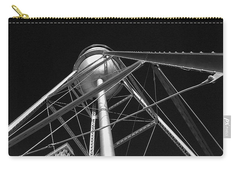 Architecture Carry-all Pouch featuring the photograph Water Tower by Dick Goodman