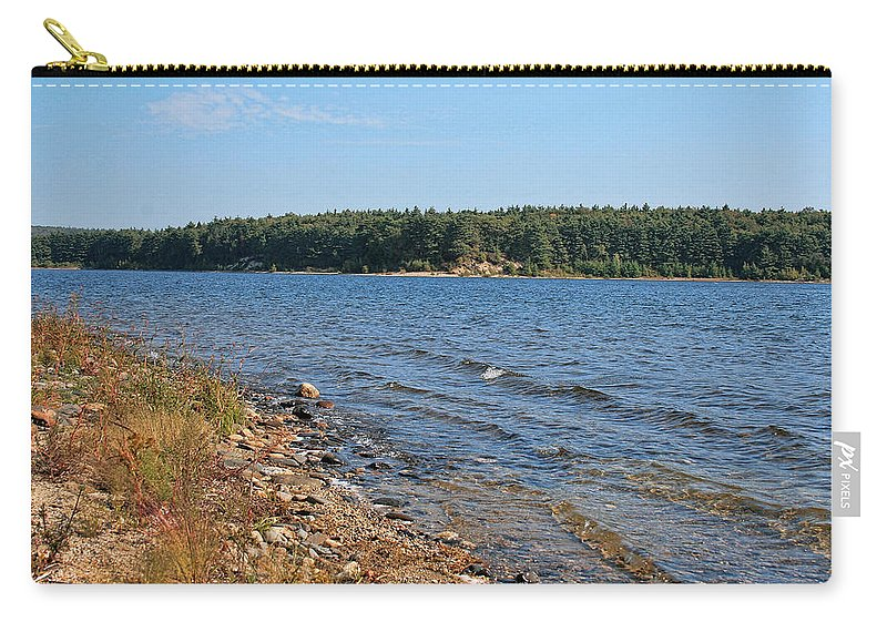 Lake Carry-all Pouch featuring the photograph Water Wisp by Mike Smale