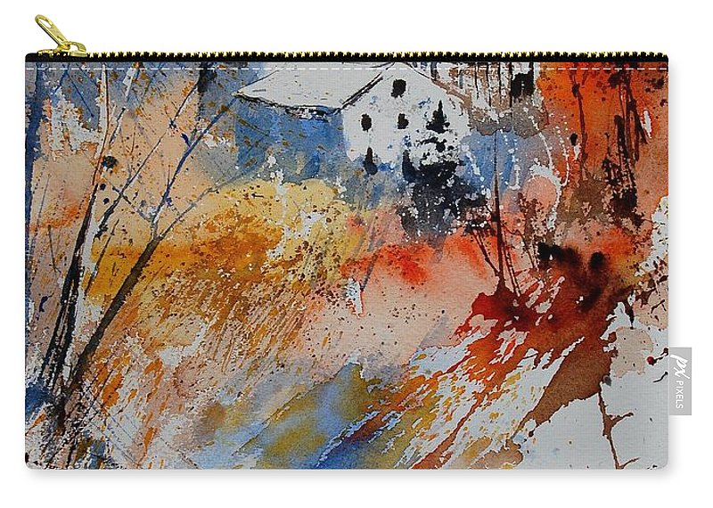 Landscape Carry-all Pouch featuring the painting Watercolor 011012 by Pol Ledent