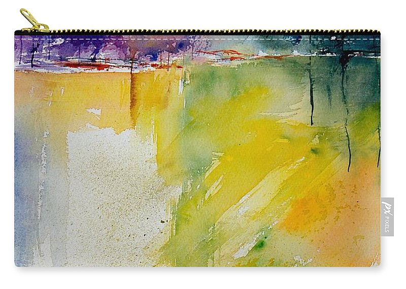 Pond Carry-all Pouch featuring the painting Watercolor 800142 by Pol Ledent