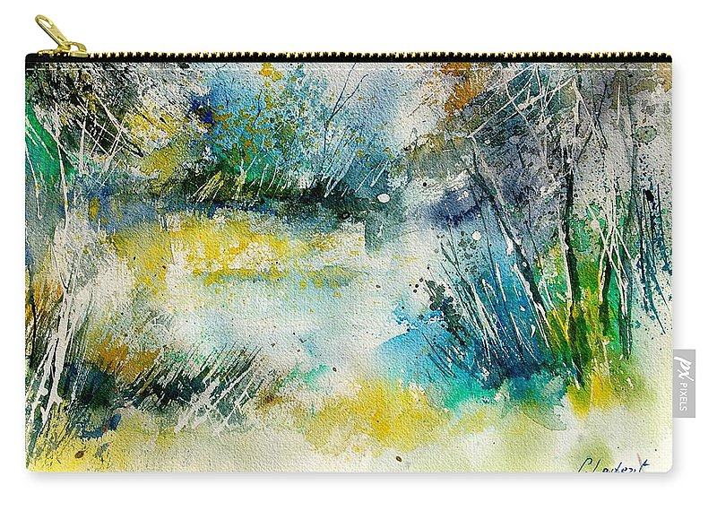 Water Carry-all Pouch featuring the painting Watercolor 906020 by Pol Ledent