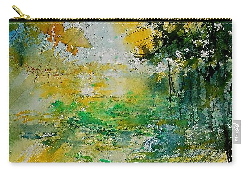 Water Carry-all Pouch featuring the painting Watercolor 908051 by Pol Ledent