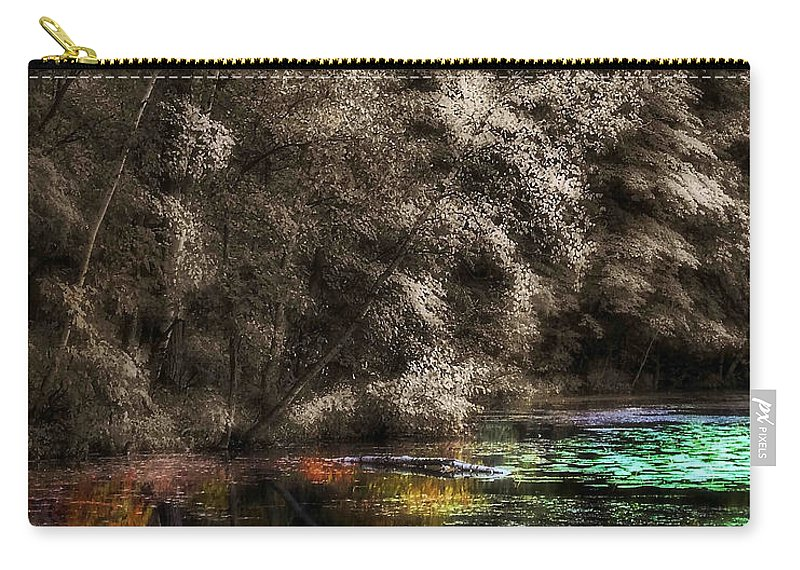 Lauren Radke Carry-all Pouch featuring the photograph Watercolors by Lauren Radke