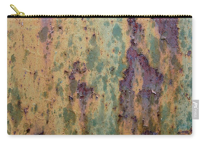 Weathered Metal Carry-all Pouch featuring the photograph Waterfall by Elaine Booth-Kallweit