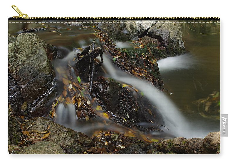 River Carry-all Pouch featuring the photograph Waterfall by M D G