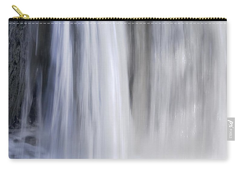 Waterfall Carry-all Pouch featuring the photograph Waterfall by Svetlana Sewell
