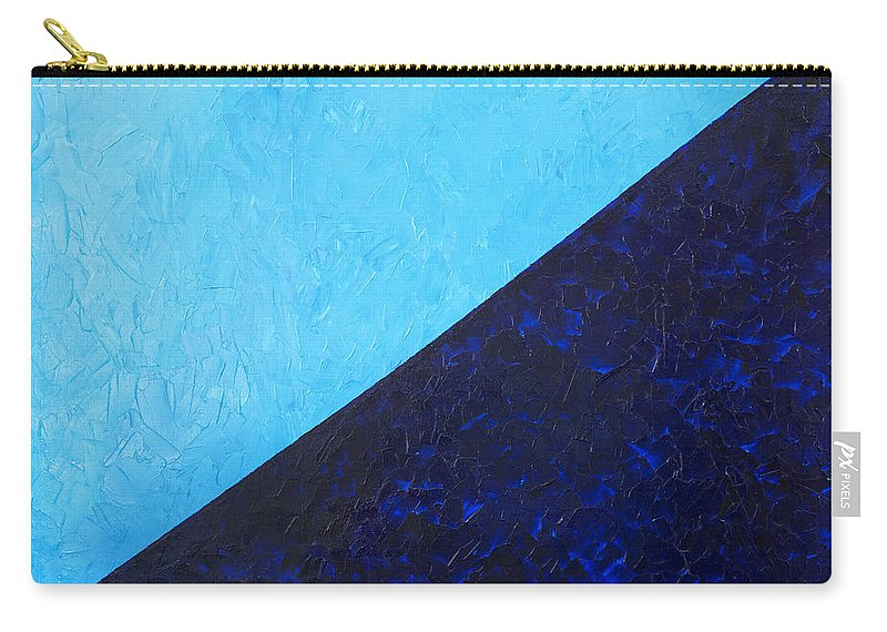Impasto Carry-all Pouch featuring the painting Water's Edge by JoAnn DePolo