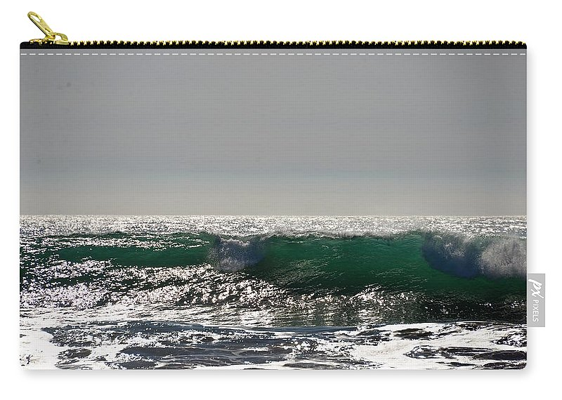 Waves Carry-all Pouch featuring the photograph Waves by Michael Brown