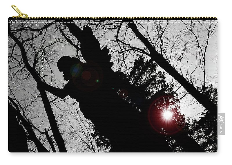 Angel Carry-all Pouch featuring the photograph We Are Everywhere by Betsy Knapp