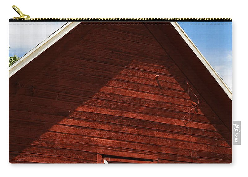 Weather Carry-all Pouch featuring the photograph Weather Vane by Marilyn Hunt