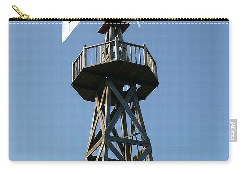 Carry-all Pouch featuring the photograph Weather Vane by Ron Rossiello