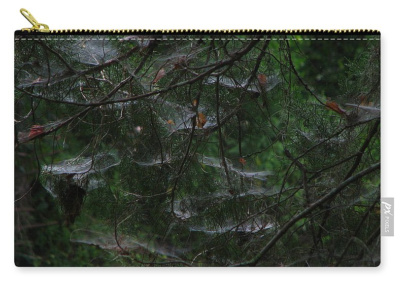 Patzer Carry-all Pouch featuring the photograph Webs Of A Tree by Greg Patzer